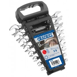 TONA Expert E111406 8dílná sada metrických oboustranných klíčů-plastový držák