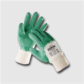 COOT rukavice máč. v zeleném latexu - 10