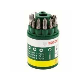 BOSCH 10dílná sada šroub.bitů Bosch (IXO,IXO-set, PSR12, 12-2, 14,4, 10,8LI, 7,2LI)
