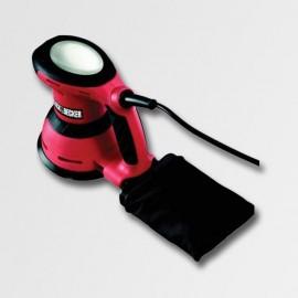 Vibrační bruska Mouse 120W, 3+2 brusné mřížky, taška