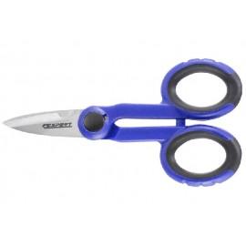 TONA Expert E184280T elektrikářské nůžky s bimateriální rukojetí