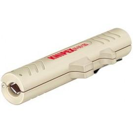 KNIPEX 16 65 125SB Nástroje pro odstraňování plášťů datových kabelů