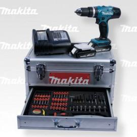Makita Aku příklepový šroubovák s příslušenstvím Li-ion 18V/1,5Ah DHP453SYEX