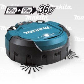 Makita Aku-vysavač robotický Li-ion 2x18V,bez aku   Z DRC200Z