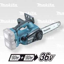 Makita Aku řetězová pila Li-on 2x18V,bez aku (AS3726)  Z DUC252Z