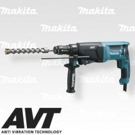 Makita Kombinované kladivo s AVT a výměnným sklíčidlem 2,4J,800W HR2631FT
