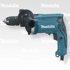 Makita Příklepová vrtačka s kufrem,rychlosklíčidlo 1,5-13mm,710W HP1631K