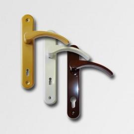 Dveřní kování Viola F90 bílá