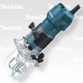Makita Jednoruční frézka 6mm,530W 3710