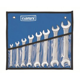 NAREX 443000583 Sada oboustranných otevřených klíčů 8 dílná