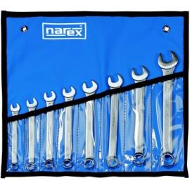NAREX 443000718 Sada klíčů 8dílná inch očkoplochých vinyl