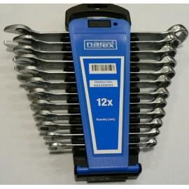 NAREX 443000731 Sada klíčů 12dílná inch očkoplochých plast. držák