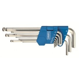 NAREX 443000883 Sada klíčů 9dílná imbus s kuličkou 710.609K Crv