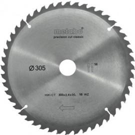 METABO 628064000 pilový kotouč 305*30, 56WZ 5° negativ hW/CT