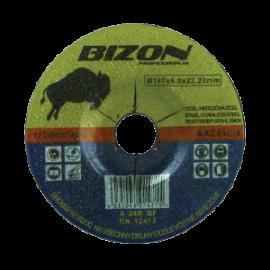BIZON řezný kotouč vydutý 180x6,0x22,23mm