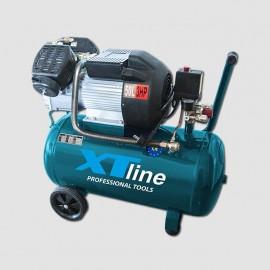 Olejový kompresor XTline 3,0HP 2,2KW 8bar 50L 3050V, XT2004