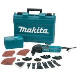 Makita Multi Tool s příslušenstvím 320W,systainer TM3000CX3J /multifunkční bruska
