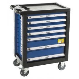 NAREX 443000971 Montážní skříň pojízdná prázdná (7 zásuvek)   (7913838)
