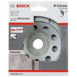 BOSCH 2608601571 Diamantový brusný hrnec Standard for Concrete 115 × 22,23 × 5