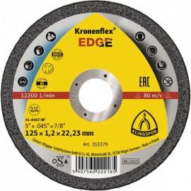 Klingspor Kronenflex® Edge,  řezný kotouč na nerez, ocel, 125 x 1.2 x 22,23,  RO125/1.2KE