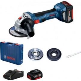 Bosch GWS 180-LI (125)aku  úhlová bruska + 2 x 4.0 Ah + GAL 18 V-40 06019H9021