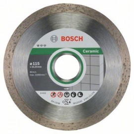 Diamantový kotouč BOSCH 2608602201 pr. 115 mm celoobvodový