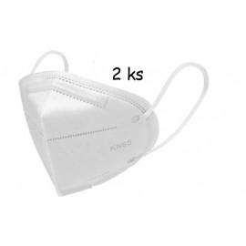 Respirátor KN95 Pro ochranu dýchacích cest. 2ks v balení
