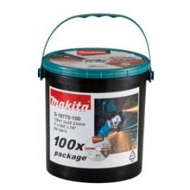 Makita řezný kotouč 125x1,2x22 nerez,balení 100 ks D-18770-100
